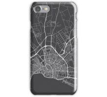 Palma Map, Spain - Gray iPhone Case/Skin