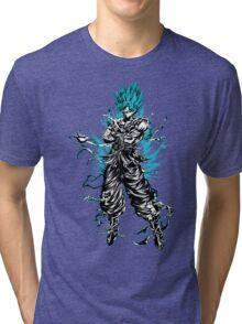 super saiyan goku shirt - RB00207 Tri-blend T-Shirt