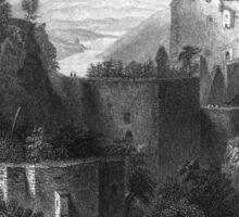 Aggstein Castle – The Danube (Beattie, William) Sticker