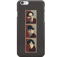 Sherlock Trilogy - X3 Rustic iPhone Case/Skin