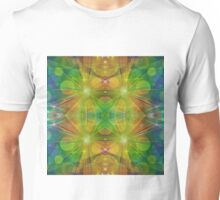 Radiant Beams with Bubbles Unisex T-Shirt