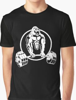 Gorilla Gym Bodybuilding Graphic T-Shirt