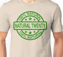 Natural 20 (Clean) Unisex T-Shirt