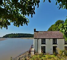 Dylan Thomas's Boathouse by Paula J James