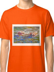 Stickin' Together by Daniel Adams Classic T-Shirt
