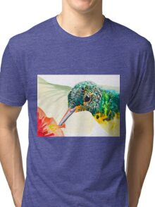 Hummerface by Daniel Adams Tri-blend T-Shirt