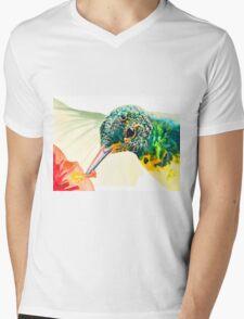 Hummerface by Daniel Adams Mens V-Neck T-Shirt