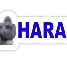 RIP - HARAMBE Sticker