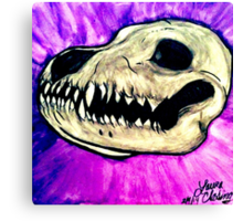 What Big Teeth You Have Canvas Print