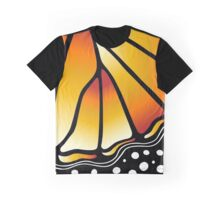 Beautiful Butterfly - Orange Graphic T-Shirt