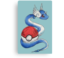 Dragonair Design Canvas Print