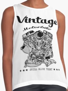 MOTORCYCLE ENGINE Contrast Tank