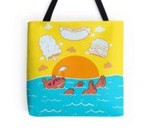 Summer Soak Tote Bag