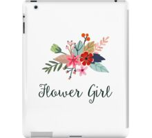 Floral Bouquet Flower Girl iPad Case/Skin