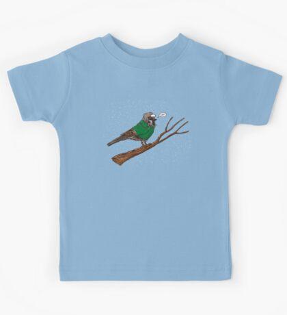 Annoyed IL Birds: The Sparrow Kids Tee