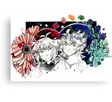 Judai and Johan Canvas Print