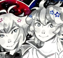 Judai and Johan Sticker