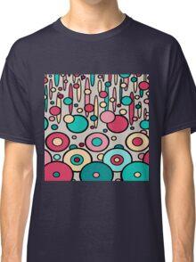 Retro Circle Modern  Classic T-Shirt