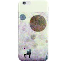 Not There-- color reversed iPhone Case/Skin