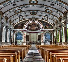 Interior Panorama, Most Blessed Sacrament, Philadelphia by PhillyChurches
