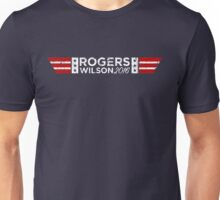 Real American President - White Text Unisex T-Shirt