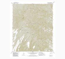 USGS TOPO Map Arizona AZ Willow Mtn 314129 1967 24000 One Piece - Short Sleeve
