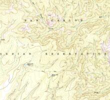 USGS TOPO Map Arizona AZ Willow Mtn 314129 1967 24000 Sticker