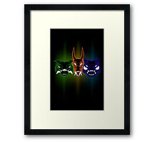 Monsters of the First Gen Framed Print