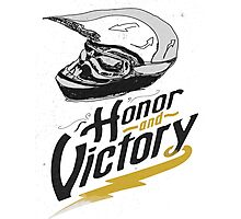 helm honor and victory Photographic Print