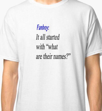 Fanboy Origins  Classic T-Shirt