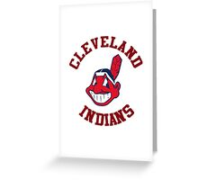 Cleveland indians Style Greeting Card