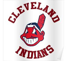 Cleveland indians Style Poster