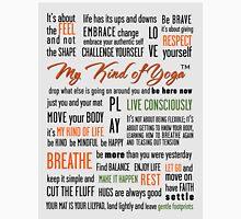 My Kind of Yoga Manifesto Long Sleeve T-Shirt
