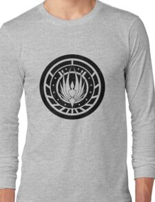 Battlestar Galactica Design - Colonial Seal Long Sleeve T-Shirt