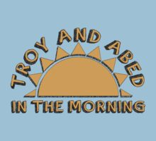 Community - Troy and Abed in the morning Baby Tee