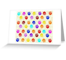 Roses In Colors Greeting Card