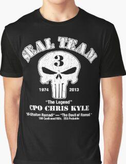 American Sniper Chris Kyle Punisher Graphic T-Shirt