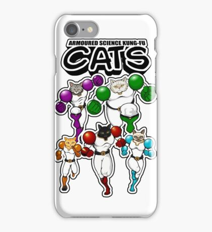 Armoured Science Kung-Fu Cats iPhone Case/Skin