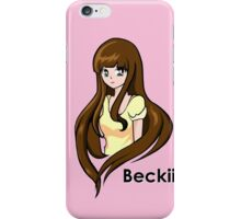Beckii Cruel iPhone Case/Skin