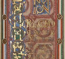 Decorated Incipit Page - Opening of Saint John's Gospel (1120 - 1140 AD) by SexyCodicology