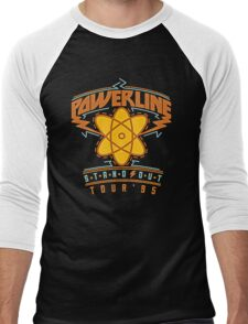 powerline Men's Baseball ¾ T-Shirt