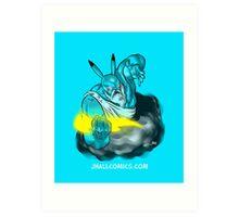 Pikazeus Art Print