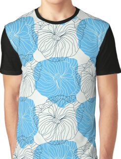 Vector floral pattern in doodle style with flowers. Gentle, spring Graphic T-Shirt