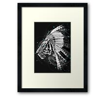 Don't Define Your World (Chief of Dreams: Tiger) Tribe Series Framed Print
