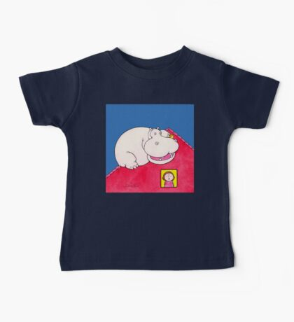 Hippopotamus on Our Roof Baby Tee