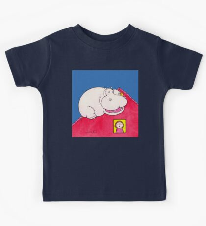 Hippopotamus on Our Roof Kids Tee
