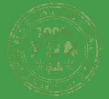 100% Fun Marijuana Stamp One Piece - Short Sleeve