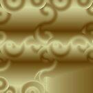 Gold Scrollwork by Kinnally