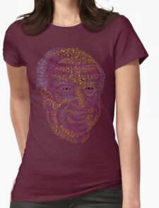 Albert Hofmann psychedelic portrait Womens Fitted T-Shirt