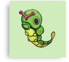 Caterpie Canvas Print